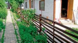 Дерев'яний декоративний паркан для саду на дачі фото, огорожа з дерева своїми руками для клумб та городу