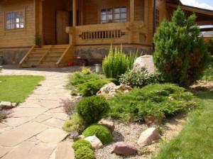 Как сделать ландшафтный рокарий на даче своими руками, фото. Обустройство рокария в саду на участке.