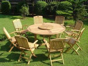 Які садові меблі вибрати для саду, поради.