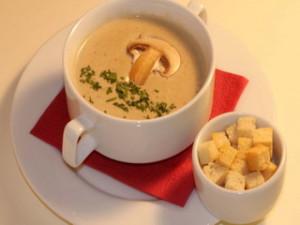 Грибное пюре, или грибной суп. Вкусный рецепт приготовления к праздничному столу.