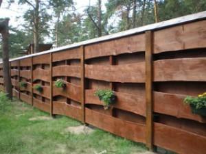 Список видів парканів та огорож для дачі, городу, садової ділянки, будинку.